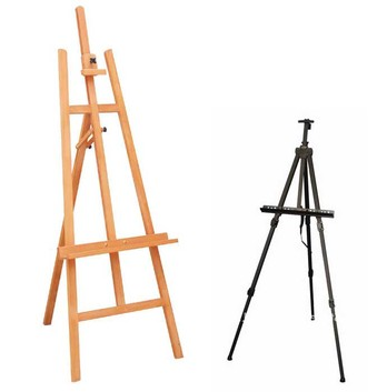 Easel Stand Display System Pop Up Booth Tension